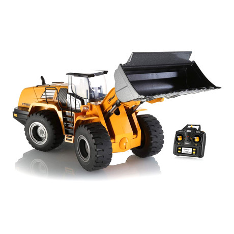 10 Channel Full Functional Remote Control Front Loader Construction Tractor