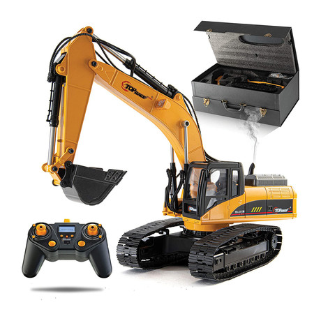23 Channel Functional Remote Control Excavator Construction Tractor