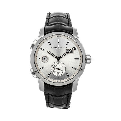 Ulysse Nardin Dual Time Automatic // 3343-126/91 // Pre-Owned