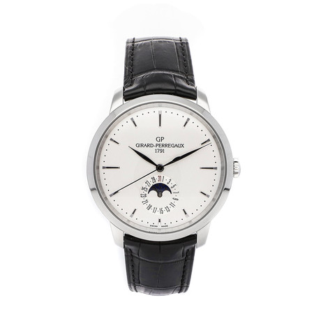 Girard-Perregaux 1966 Moon Phases Automatic // 49545-11-131-BB60 // Pre-Owned