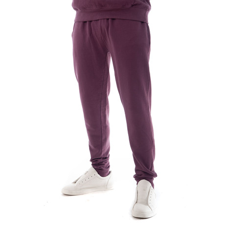 Enzyme Sweatpants // Plum (XS)