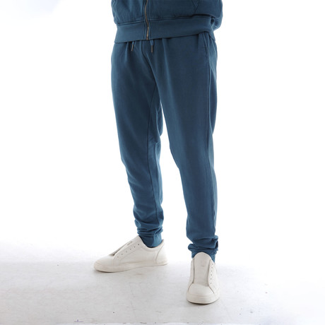 Enzyme Sweatpants // Blue (XS)