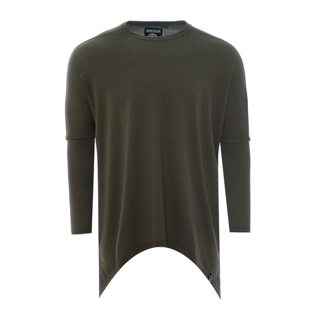 Garcia Long-Sleeve Shirt // Green (XS)
