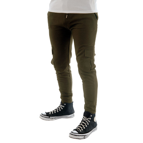 Screwdriver Sweatpants // Olive (XS)
