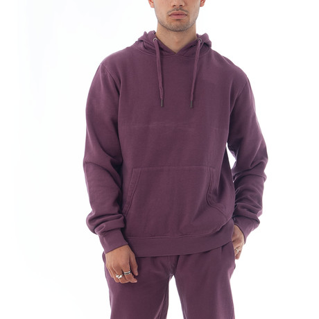 Enzyme Sweatshirt // Plum (XS)