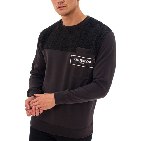 WZ02 Sweatshirt // Black (XS)
