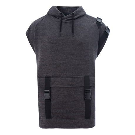 SB05 Short-Sleeve Sweatshirt // Charcoal (XS)