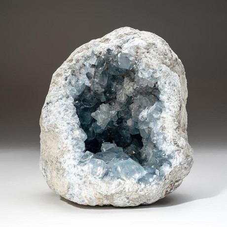 Genuine Blue Celestite Geode V1