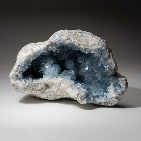 Genuine Blue Celestite Geode V2