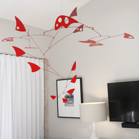 Archaeopteryx // Modern Hanging Mobile