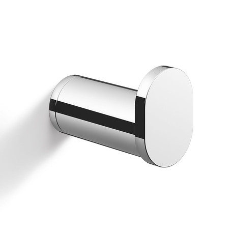 ATORE // Wall Mounted Towel Hook (Brushed Silver)