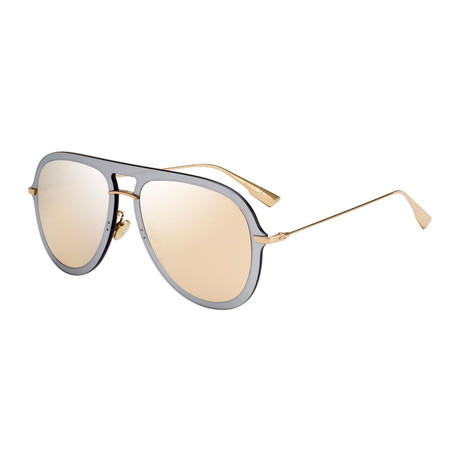 Women's Time Sunglasses // Gold