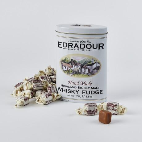 Edradour Malt Whisky Fudge Tin // Set of 2