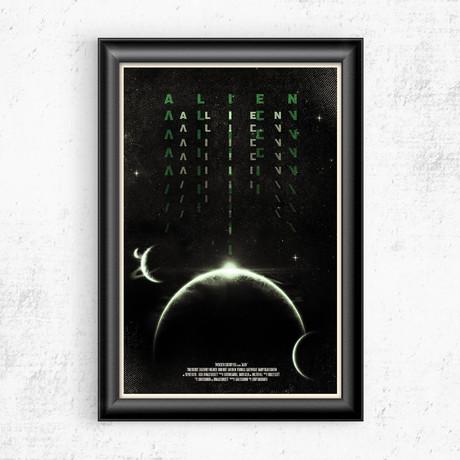 """Alien (11""""W x 17""""H)"""