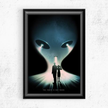 "Reveal // X-Files (11""W x 17""H)"