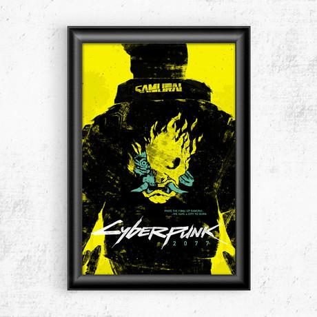 """Cyberpunk 2077 (11""""W x 17""""H)"""