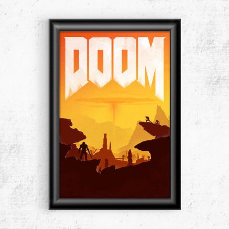 """Doom (11""""W x 17""""H)"""