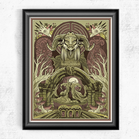 """Pan's Labyrinth (11""""W x 14""""H)"""