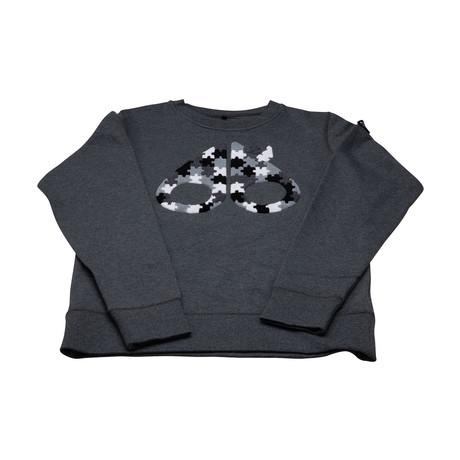 Women's Hollywood Bay Sweatshirt // Charcoal Melange (XS)