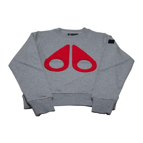 Women's Logo Sweatshirt // Gray (XS)