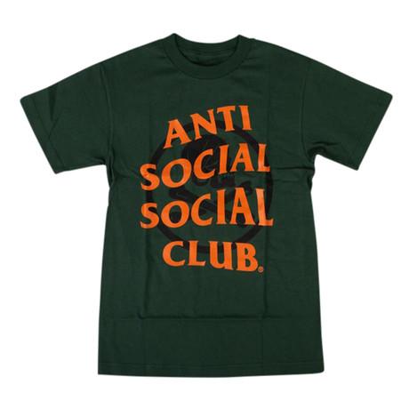 ASSC x NEIGHBORHOOD Cambered T-Shirt // Green (S)
