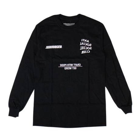 ASSC x NEIGHBORHOOD Long Sleeve T-Shirt // Black (S)