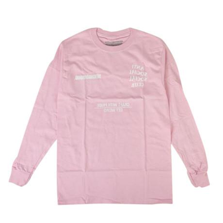 ASSC x NEIGHBORHOOD Long Sleeve T-Shirt // Pink (S)