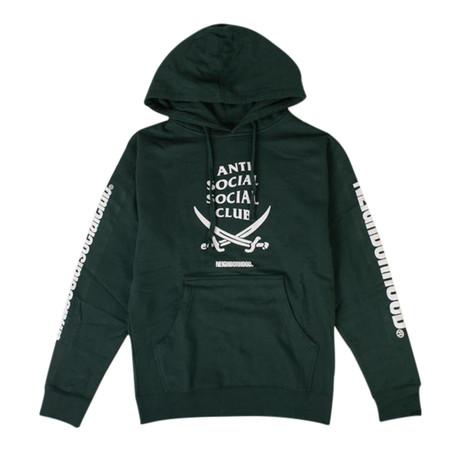ASSC x NEIGHBORHOOD 6IX Sweatshirt // Green (S)
