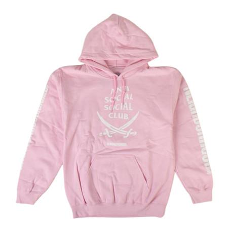 ASSC x NEIGHBORHOOD 6IX Sweatshirt // Pink (S)