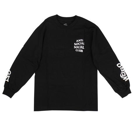 ASSC Get Weird Long-Sleeve T-Shirt // Black (S)