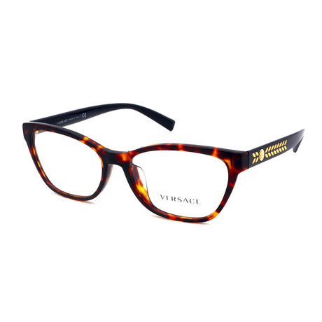 Versace // Men's GV4358-529673 Medusa Sunglasses // Havana Black