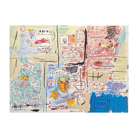 Jean-Michel Basquiat // Olympic  // 1982-83 // 2017