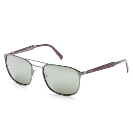 Men's PR75VS-52372256 Sunglasses // Matte Gunmetal + Gray