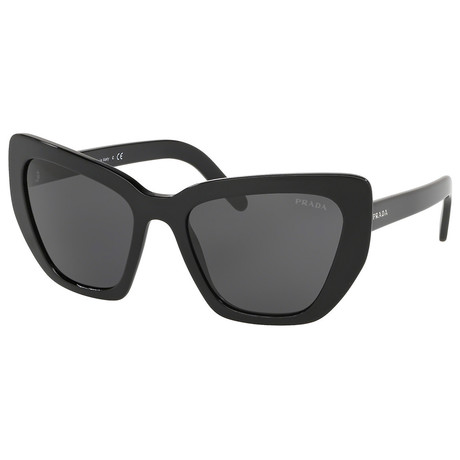 Women's 0PR08VS-1AB5S0 Sunglasses // Black + Gray