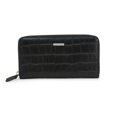 Crocodile Wallet // Black