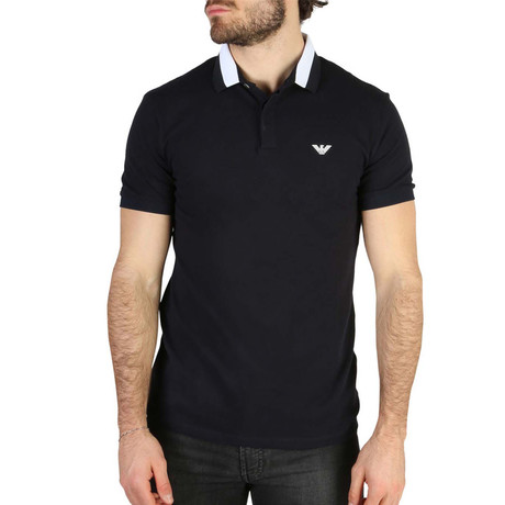 Polo Shirt // Dark Blue (S)