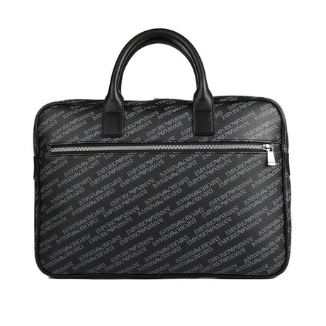 Briefcase // Black + Gray