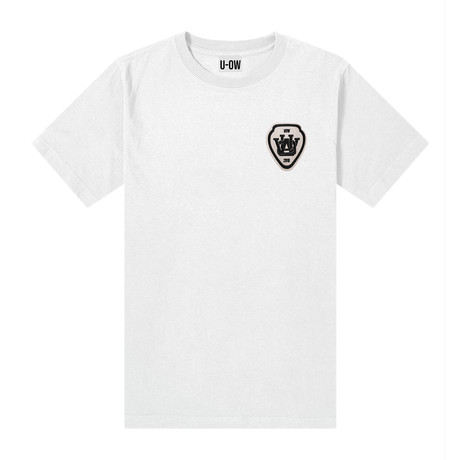 College T-Shirt // White (S)