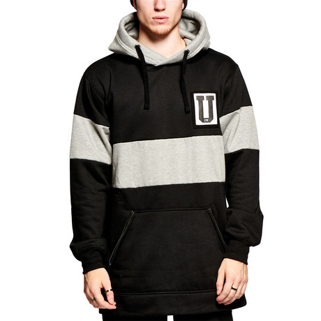 Technical Hoody // Black + Gray (S)