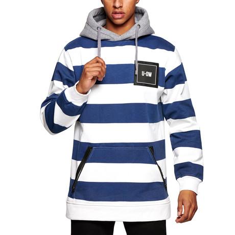 Technical Hoody // Stripe (S)