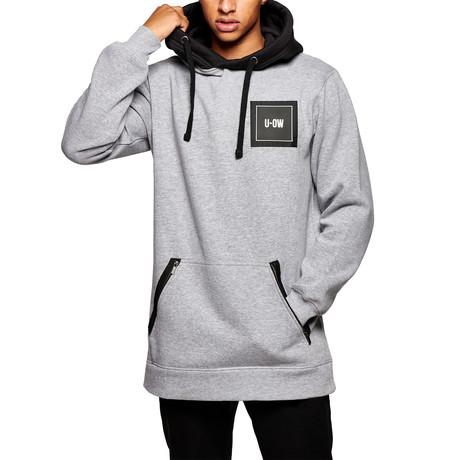 Technical Hoody // Gray + Black (S)