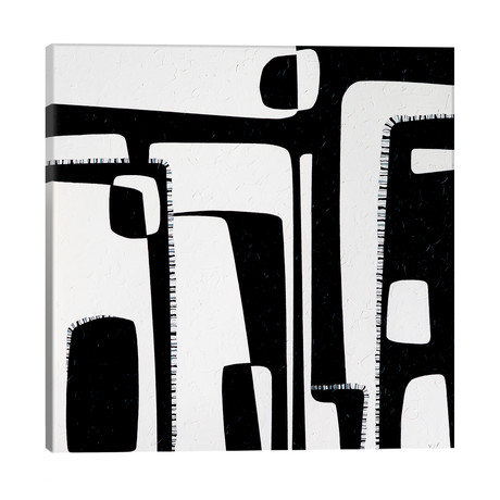 """Contrasts // Yelena Revis (18""""W x 18""""H x 1.5""""D)"""