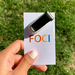 FOCI Focus Boosting Wearable (Silver)