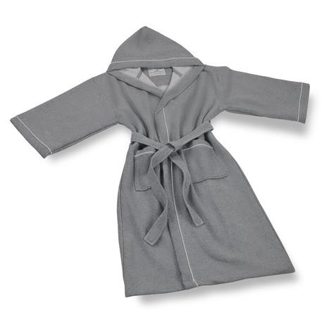Sweatshirt Hooded Robe // Gray