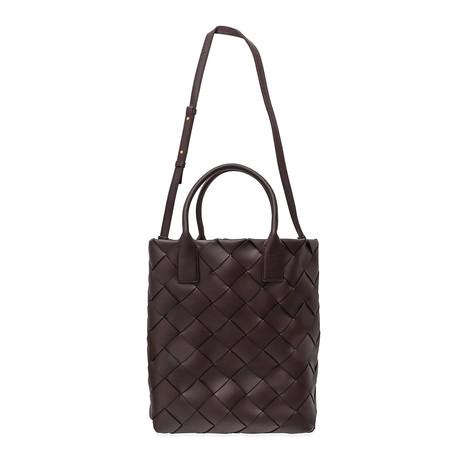 Bottega Veneta // Women's Maxi Cabat Bag // Ox Blood