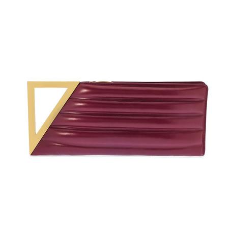 Bottega Veneta // Women's Clutch Bag // Pink