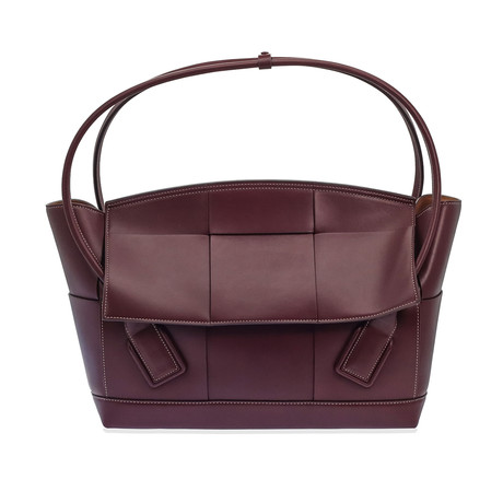 Bottega Veneta // Women's Large Arco Bag // Bordeaux