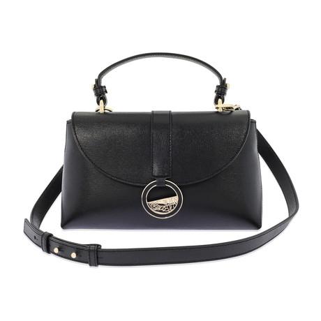 Versace Collection // Women's Top Handle Satchel // Black