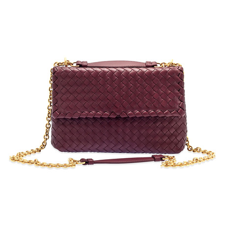 Bottega Veneta // Women's Small Olympia Bag // Bordeaux