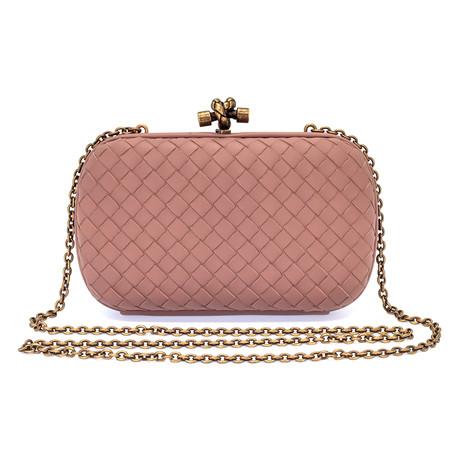 Bottega Veneta // Women's Chain Knot Bag // Rose